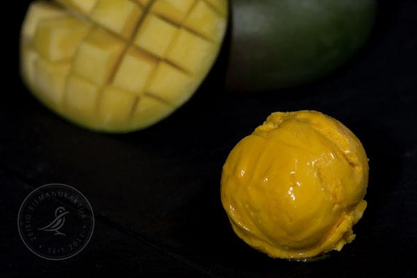 Sorbet Eis Mango